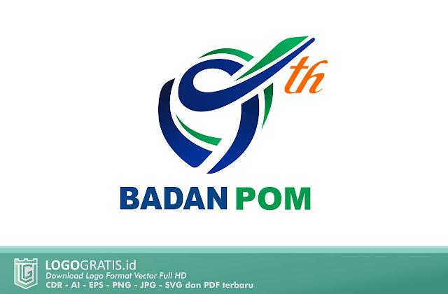 Logo Ulang Tahun Badan Pengawas Obat dan Makanan ke 19 Tahun Indonesia Farmasi