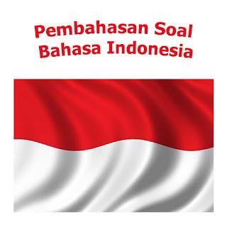 pembahasan soal bahasa indonesia halaman 55 kelas 12