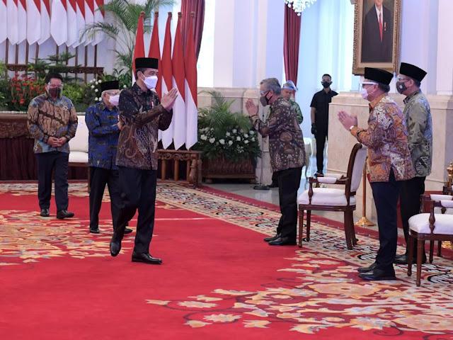 Presiden Jokowi Berikan Pesan Khusus untuk Bank Syariah Indonesia