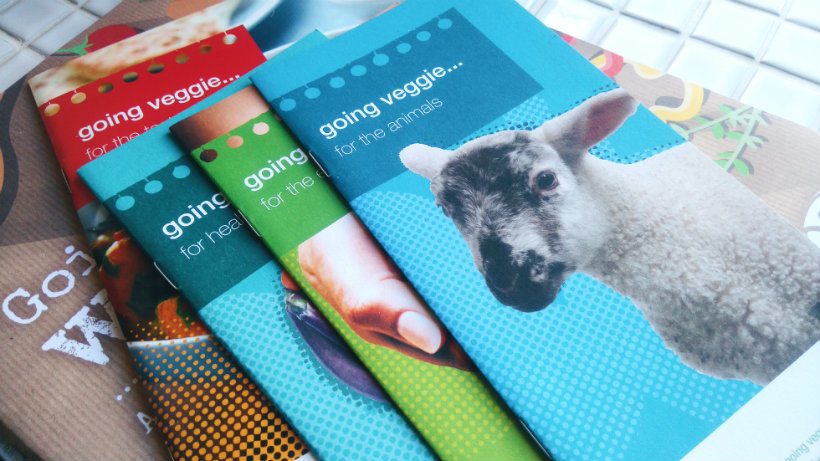 Vegetarian Society Leaflets
