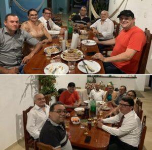 """Célio serve pernil, cria aparentemente  novo grupo e dispara: """"Seremos resistência"""""""