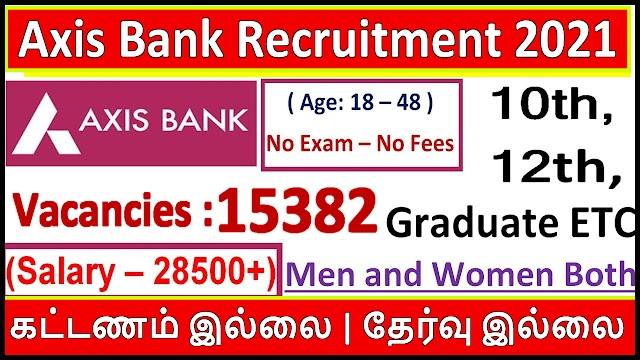 Axis Bank Recruitment 2021 | Apply Online | All India Axis Bank Jobs 2021