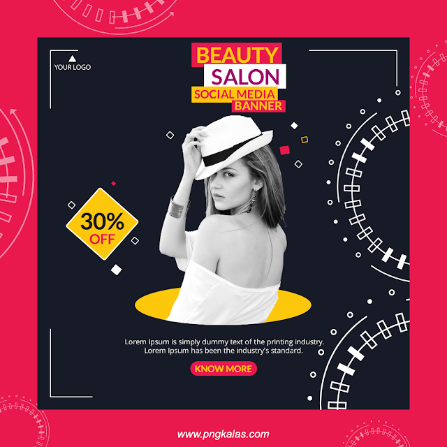 Poster Design Social Media Banners Banner Design Template Instagram Banner Promotion Banner Beauty Parlour Social Media Banner
