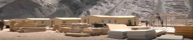 Watch: Indian Troops Maintain Vigil Post Disengagement In Ladakh's Gogra