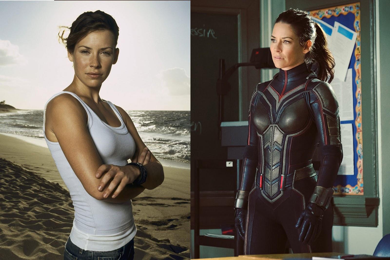 Evangeline Lilly The Wasp mani cewek cantik jadi superhero