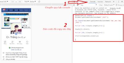 [Code facebook]- Thả tym hàng loạt trong trang cá nhân của Crush AnonyHome