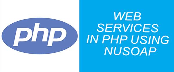 web service dalam php dengan nusoap