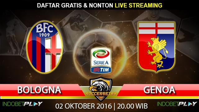 Prediksi Bologna vs Genoa 02 Oktober 2016 (Liga Italia)