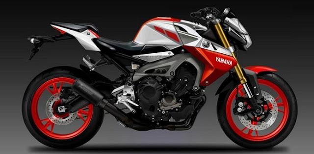 Yamaha MT-09 terbaru 2016