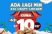 Shihlin Promo XXL Crispy Chicken Cuma Rp.10Ribu Dengan DANA