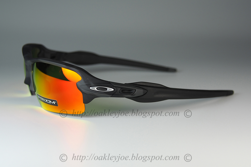 fbb8a9a03bb48 oo9271-2261 Flak Jacket 2.0 asian fit matte black + prizm black iridium   245 lens pre coated with Oakley hydrophobic nano solution