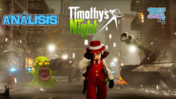 Análisis de Timothy's Night para PS5