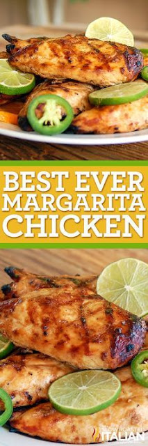 Best Ever Grilled Margarita Chicken
