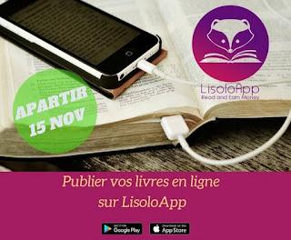LisoloApp : l'application mobile congolaise pour publier, lire et acheter un livre en ligne