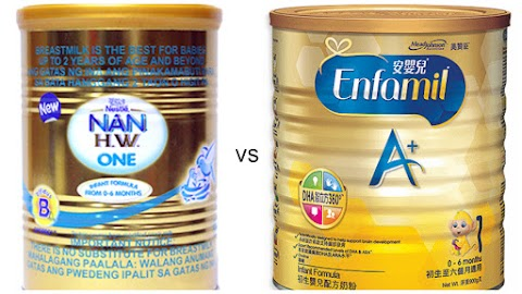 Enfamil vs Nan HW1 Review