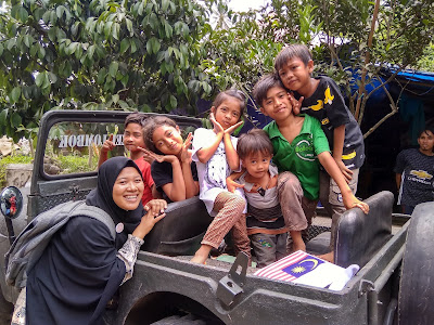 Semangat anak-anak lombok