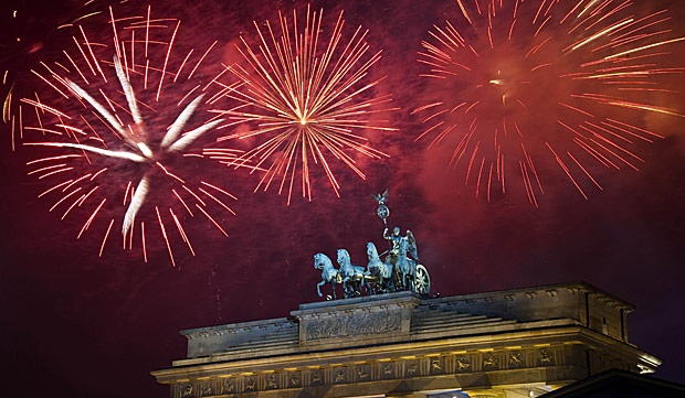 New Year day in Germany!