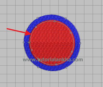 Cara membuang atau melobangi bagian tertentu di Wilcom Designer bordir komputer