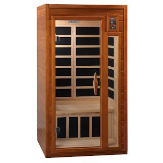 Dynamic Saunas AMZ-DYN-6101-01 1 to 2-Person Far Infrared Sauna, picture, image, review features & specifications