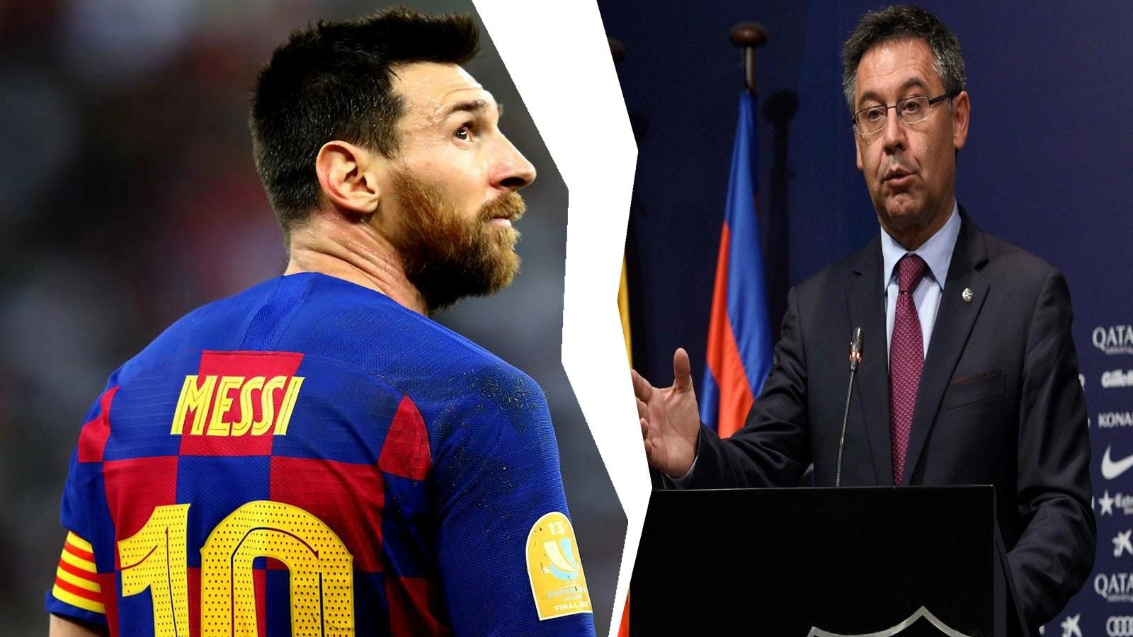 برشلونة يتخذ خطوة بشان رحيل ميسي