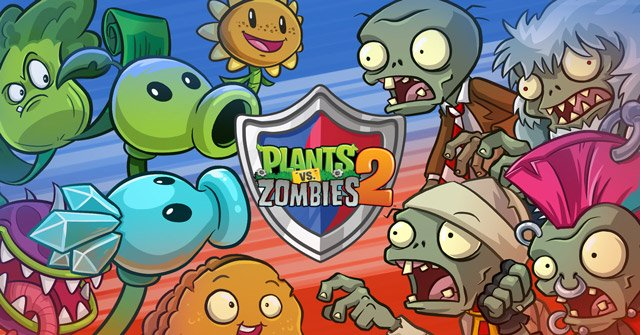 [Update] Plants vs. Zombies 2 v8.4.1 Mod – coins and diamonds
