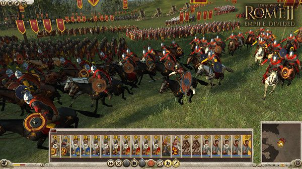 Total War: ROME II Empire Divided