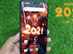 Cài đặt đếm ngược thời gian Đón Tết trên màn hình điện thoại Android