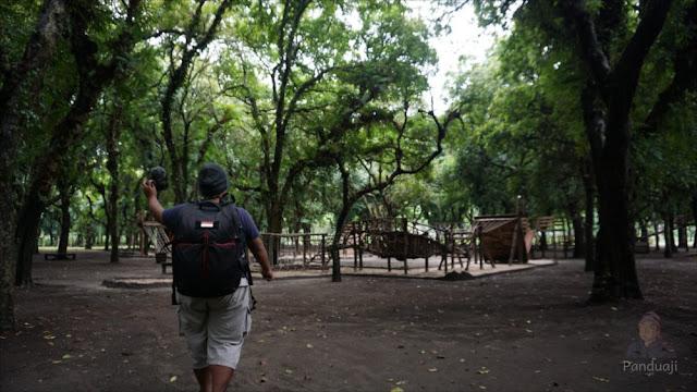 Area Outbond di Kesambi Trees Park