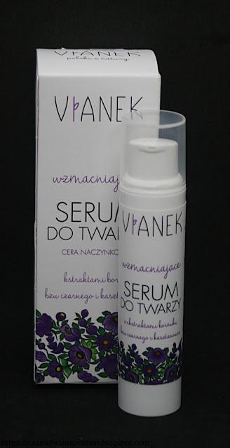 Sylveco - Vianek - Wzmacniające serum do twarzy cera naczynkowa