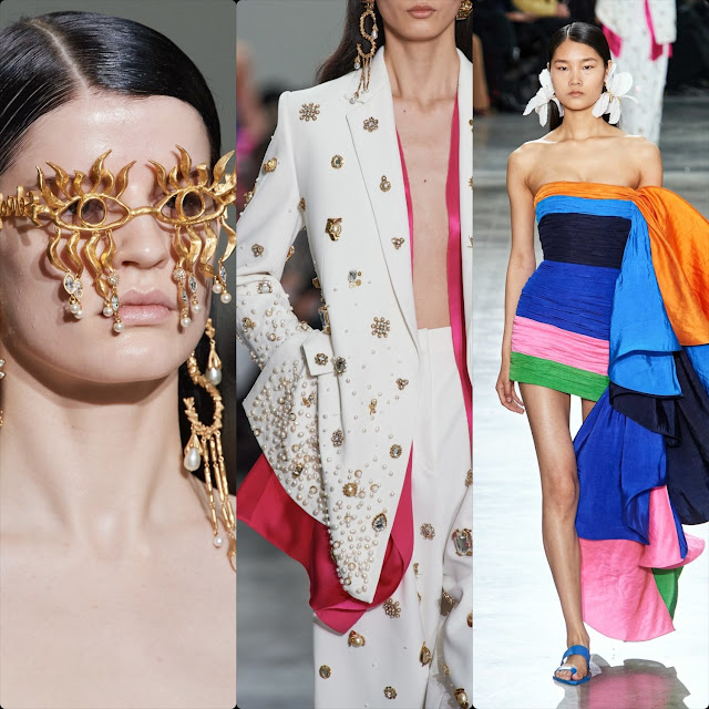 Schiaparelli Haute Couture Spring Summer 2020 Paris. RUNWAY MAGAZINE ® Collections