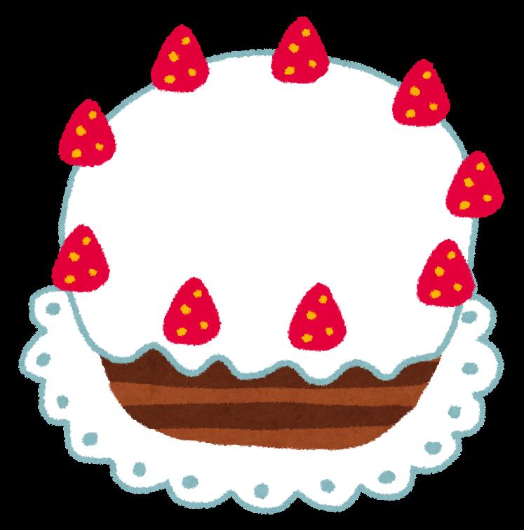 ホールケーキのイラスト かわいいフリー素材集 いらすとや