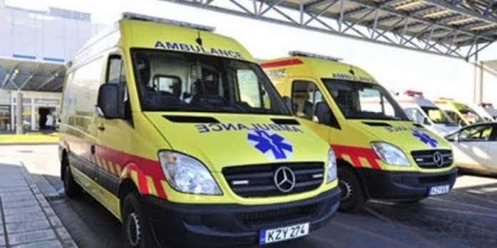 Τροχαίο ατύχημα με μηχανή στη Λάρισα - Τραυματίστηκε ο 21χρονος οδηγός