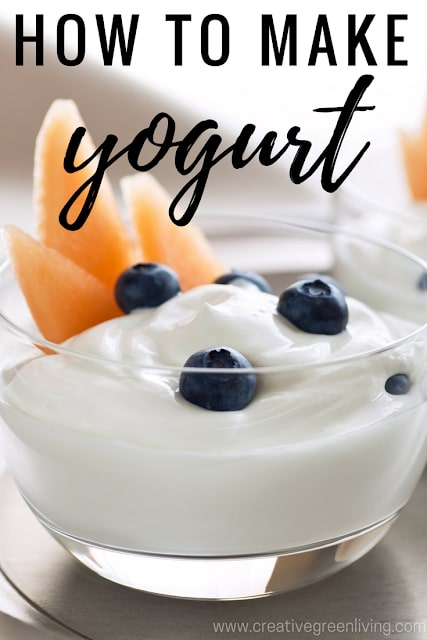 How to make yogurt at home in the instant pot or crockpot or slow cooker.