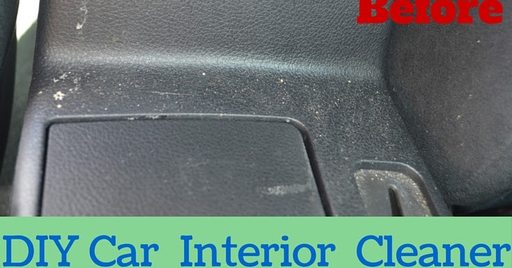 It Really Is This Easy Car Interior Cleaning Spray