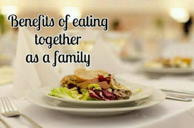 Benefits of eating together as a family
