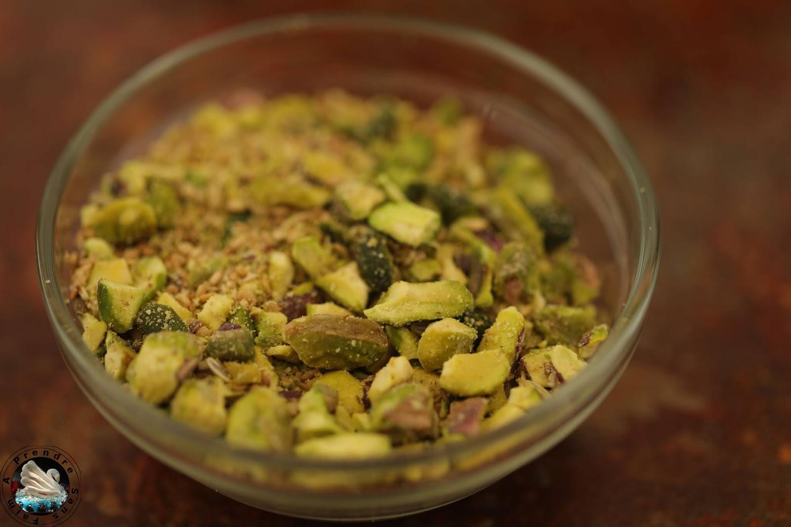 Dukkah aux pistaches