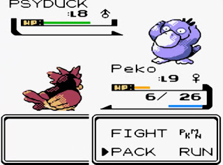 Pokemon Gold Sinnoh para GBC Pokemon Shiny Psyduck