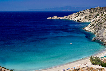 Vistas de Donoussa - Islas Griegas