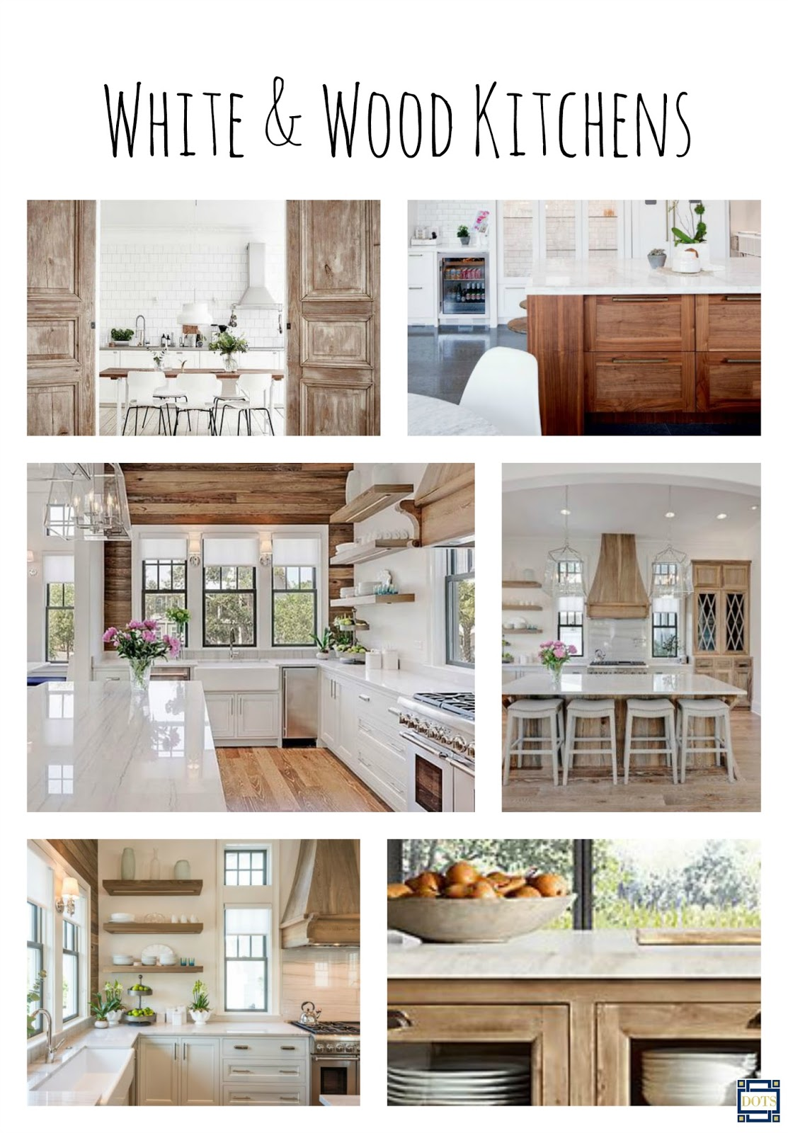 Designing On The Side White Wood Kitchens