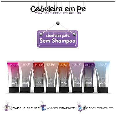 Tintas Color Craving - Keune liberada para No Poo, Sem Shampoo, Low Poo, Shampoo Leve
