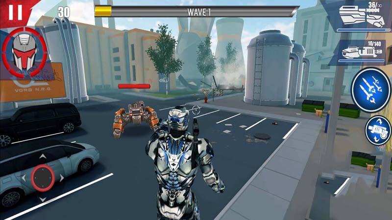 Iron Avenger Origins v1.191 mod money -  Game người sắt cho điện thoại