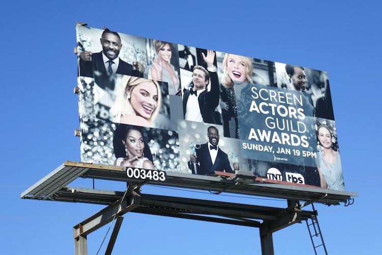 Screen Actors Guild Awards 2020 billboard