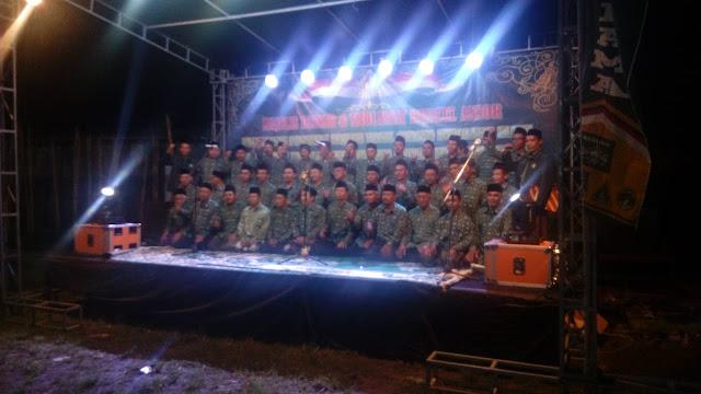Danramil12/Manisrenggo Kapten Inf Basuki menghadiri undangan pelantikan pengurus MWC NU