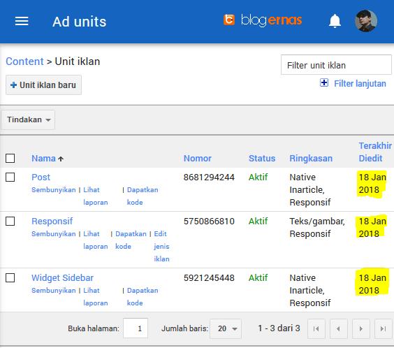 Berapa Lama Iklan Adsense Saya Tayang?