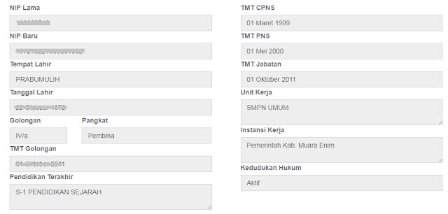 gambar apps bkn go id Cek Profil Data Pns Terbaru