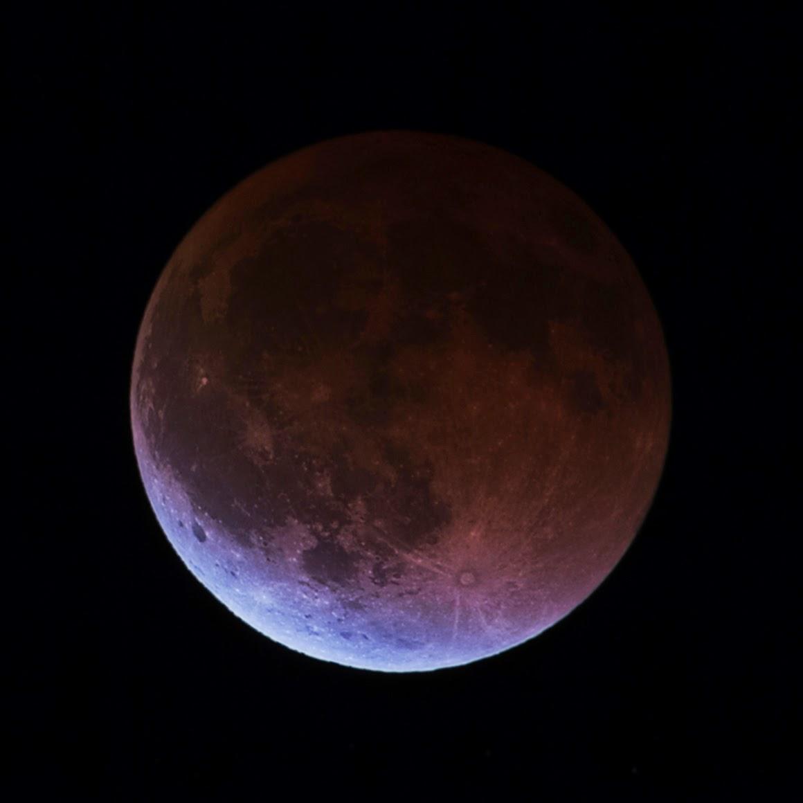 Edward Plumer: April Lunar Eclipse From Georgetown