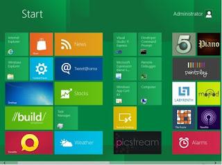La nueva interfaz gráfica de Windows