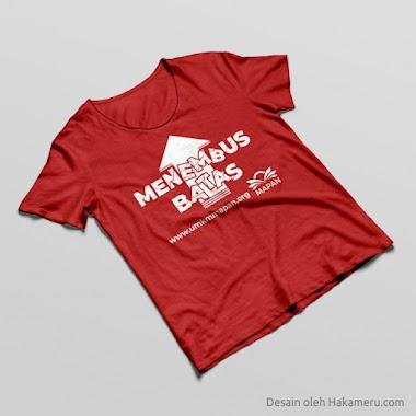 Desain Sablon Kaos Untuk Organisasi UMKM MAPAN