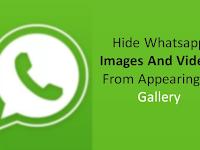 {100% BERHASIL} Cara Sembunyikan Foto Gambar Whatsapp dari Galeri di Android