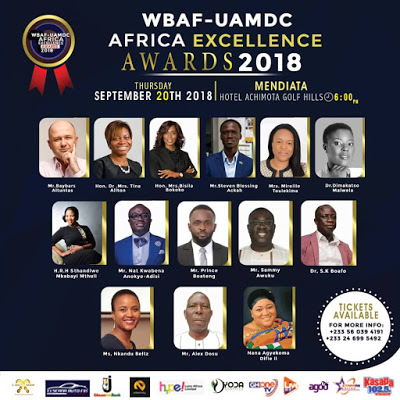 Bola Ray, Sammy Awuku And Top CEOs Nominated For WBAF-UAMDC Awards